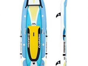 Aqua Marina Evolution 2-persoons opblaasbare kajak en SUP board